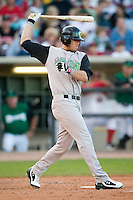 Kane County third baseman Christian Vitters (9) swings and misses versus Dayton at Fifth Third Field in Dayton, OH, Monday, May 7, 2007.