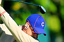 Ian Poulter of Team Europe wearing Chicago Bears cap  during practice thursday of the 39th Ryder Cup matches, Medinah Country Club, Chicago, Illinois, USA.  28-30 September 2012 (Picture Credit / Phil Inglis)