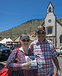 Melissa and Rea Armstrong during the Taste of the Comstock in Virginia City on Saturday, June 10, 2017.