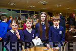 Blennerville National School attending the ISTA Primary Schools Annual Science Quiz in the IT Tralee's South campus on Thursday night last. L-r, Emily O'Brien, Brian Cavanagh, Kelly Fitzgerald and Daniel Sheehy.