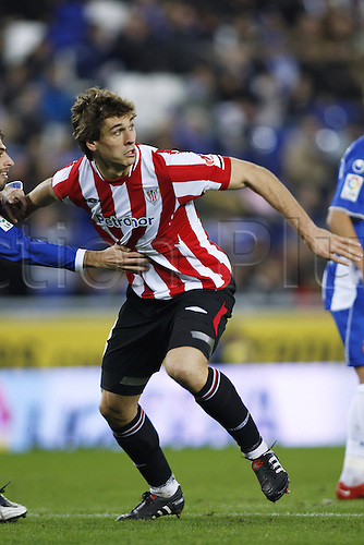 "Fernando Llorente (Bilbao), .JANUARY 30, 2010 - Football : .Spanish ""Liga Espanola"" match between Espanyol and Athletic Bilbao at Cornella-El Prat stadium in Barcelona, Spain. .Photo: D.Nakashima/Actionplus UK Editorial Only"