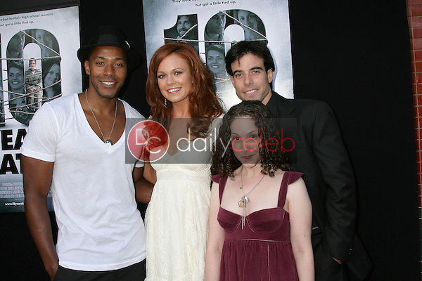McKinley Freeman and Rachel Boston with Senta Moses and Aaron Michael Metchik<br />at the Los Angeles Sneak Peek Screening of 'Ten Years Later'. Majestic Crest Theatre, Los Angeles, CA. 07-16-09<br />Dave Edwards/DailyCeleb.com 818-249-4998