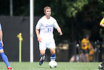 04 September 2011: Duke's Nick Palodichuk. The Southern Methodist University Mustangs defeated the Duke University Blue Devils 1-0 in overtime at Koskinen Stadium in Durham, North Carolina in an NCAA Division I Men's Soccer game.