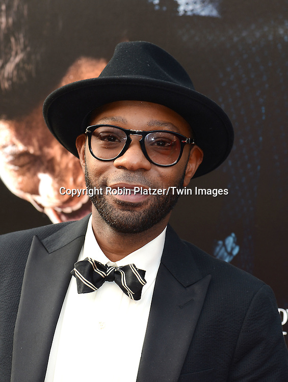 "Nelsan Ellis attends the World Premiere of ""Get On Up"" at the Apollo Theater in Harlem in New York Citiy on July 21, 2014."