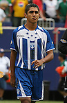10 June 2007: Honduras' Jorge Aaron Claros. The Honduras Men's National Team defeated the National Team of Mexico 2-1 at Giants Stadium in East Rutherford, New Jersey in a first round game in the 2007 CONCACAF Gold Cup.