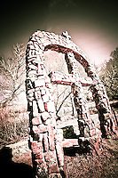 Cross Arch - Chimayo - New Mexico <br />