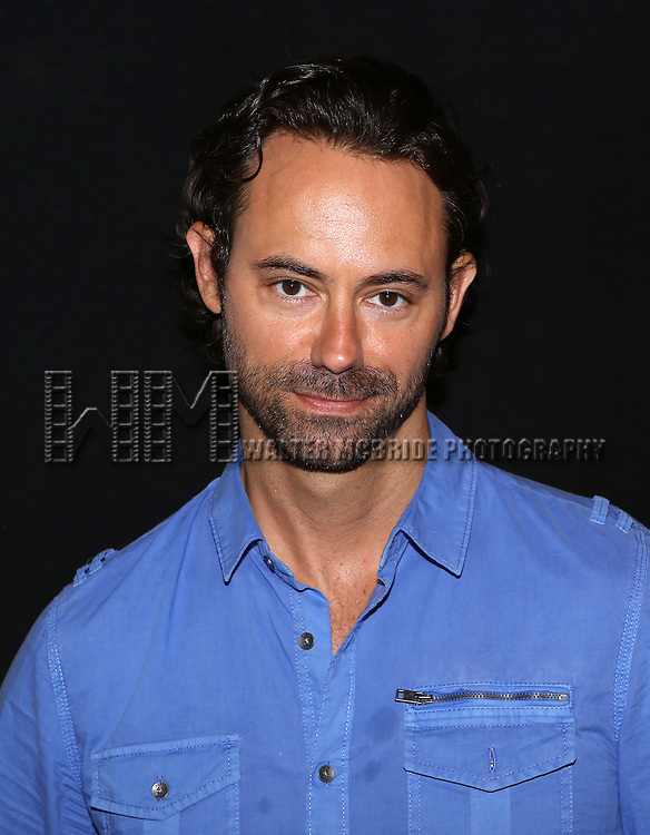 """James Wirt attend the """"Phoenix"""" Cast Photo Call at their rehearsal studio on July 9, 2014 in New York City."""