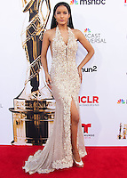 PASADENA, CA, USA - OCTOBER 10: Massiel Taveras arrives at the 2014 NCLR ALMA Awards held at the Pasadena Civic Auditorium on October 10, 2014 in Pasadena, California, United States. (Photo by Celebrity Monitor)