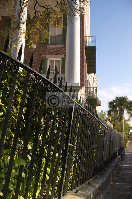 ANTEBELLUM HOMES THE BATTERY PROMENADE <br /> CHARLESTON SOUTH CAROLINA USA