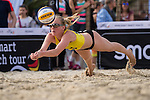 08.05.2015, Muenster, Schlossplatz<br /> smart beach tour, Supercup MŸnster / Muenster, Qualifikation<br /> <br /> Abwehr Leonie Welsh<br /> <br />   Foto &copy; nordphoto / Kurth