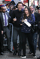 NEW YORK, NY - February 05: Chris Pratt seen at Good Morning America promoting The Lego Movie 2: The Second Part on February 05, 2019 in New York City. <br /> CAP/MPI/RW<br /> &copy;RW/MPI/Capital Pictures