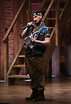 """Roddy Kennedy performing before The Rockefeller Foundation and The Gilder Lehrman Institute of American History sponsored High School student #EduHam matinee performance of """"Hamilton"""" at the Richard Rodgers Theatre on 3/15/2017 in New York City."""