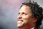 04 June 2011: 2011 National Soccer Hall of Fame Inductee Cobi Jones was honored before the game. The Spain Men's National Team defeated the United States Men's National Team 4-0 at Gillette Stadium in Foxborough, Massachusetts in an international friendly soccer match.
