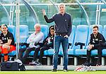 ***BETALBILD***  <br /> V&auml;llingby 2015-05-24 Fotboll Superettan IF Brommapojkarna - Varbergs BoIS :  <br /> Varbergs tr&auml;nare J&ouml;rgen W&aring;lemark gestikulerar under matchen mellan IF Brommapojkarna och Varbergs BoIS <br /> (Foto: Kenta J&ouml;nsson) Nyckelord:  BP Brommapojkarna IFB Grimsta Varberg BoIS depp besviken besvikelse sorg ledsen deppig nedst&auml;md uppgiven sad disappointment disappointed dejected