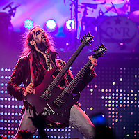 "LAS VEGAS, NV - October 31: Ron ""Bumblefoot"" Thal pictured as Guns N' Roses kick off Residency show,  Appetite for Democracy at The Joint at Hard Rock Hotel & Casino October 31, 2012 in Las Vegas, Nevada.   Photo By: Kabik/Starlitepics/MediaPunch Inc. /NortePhoto"