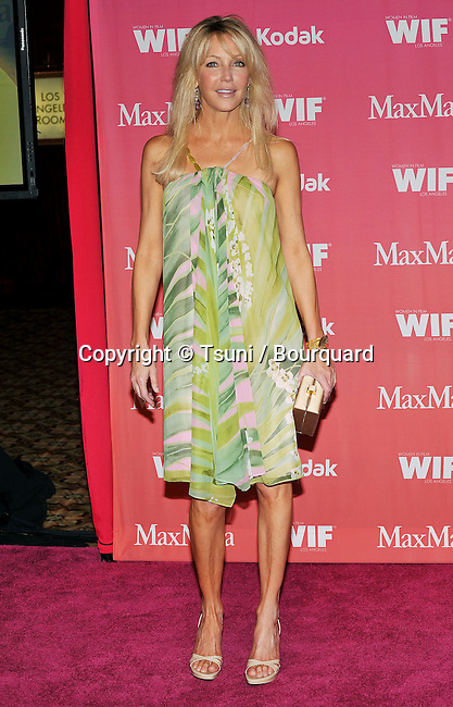 Heather Locklear -<br /> WIF - Women In Film Crystal and Lucy Awards 2009 at the Hyatt Regency Century Plaza In Los Angeles.