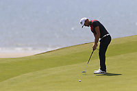 Haydn Porteous (RSA) putts on the 6th green during Thursday's Round 1 of the Dubai Duty Free Irish Open 2019, held at Lahinch Golf Club, Lahinch, Ireland. 4th July 2019.<br /> Picture: Eoin Clarke | Golffile<br /> <br /> <br /> All photos usage must carry mandatory copyright credit (© Golffile | Eoin Clarke)