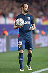 Atletico de Madrid's Juanfran during Champions League 2015/2016 Quarter-Finals 2nd leg match. April 13, 2016. (ALTERPHOTOS/BorjaB.Hojas)
