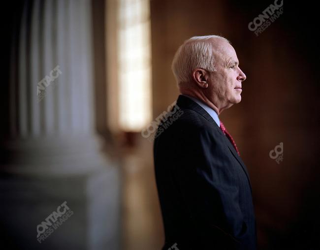Senator John McCain (R-Arizona). Washington, DC, USA, March 15, 2006