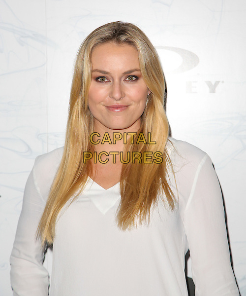 LOS ANGELES, CA - February 24: Lindsey Vonn at Oakley's Disruptive By Design Launch Event, RED Studios, Los Angeles, February 24, 2014.<br /> CAP/MPI/mpi99<br /> &copy;mpi99/MediaPunch/Capital Pictures