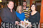 Food Fair : Attending the Tapas Tasting at Allo's Bistro & Restaurant on Friday were Armel Whyte,  Anne Marie & Denis O'Connor  & Sarah Browne