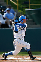 Brandon Crawford of the UCLA Bruins during a game against the East Carolina Pirates at Jackie Robinson Stadium on February 17, 2007 in Los Angeles, California. (Larry Goren/Four Seam Images)