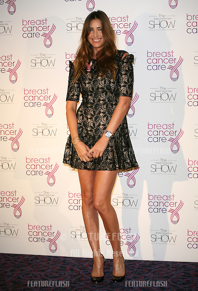 Lisa Snowdon attending the 2011 Breast Cancer Care Fashion Show, at the Grosvenor House Hotel, London. 05/10/2011 Picture by: Alexandra Glen / Featureflash