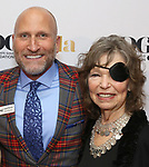 Joseph A. Bierman and Gretchen Cryer attends the cocktail party for the Dramatists Guild Foundation 2018 dgf: gala at the Manhattan Center Ballroom on November 12, 2018 in New York City.