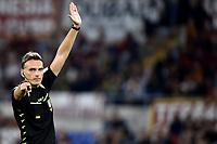 Referee Massimiliano Irrati <br /> Roma 25-9-2019 Stadio Olimpico <br /> Football Serie A 2019/2020 <br /> AS Roma - Atalanta Bergamasca Calcio <br /> Foto Andrea Staccioli / Insidefoto