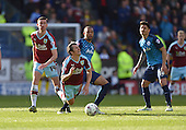 02/05/16 Sky Bet League Championship  Burnley v QPR<br /> Matt Phillips fouls Joey Barton