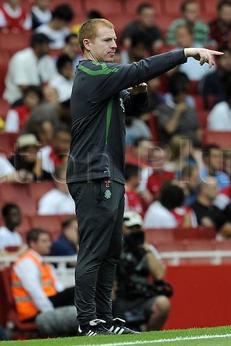 28.07.2010. Celtic Glasgow Coach Neil Lennon