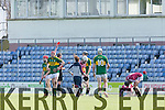 Kerry's Keith Carmody gets the red Card at the Kerry v Westmeath at Austin Stack Park on Sunday