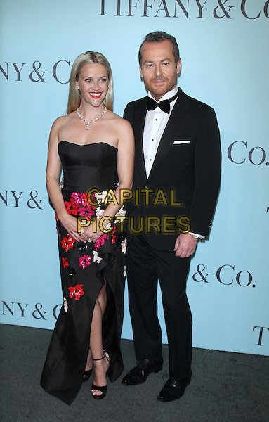 04 15,  2016: Reese Witherspoon,  Frederic Cumenalat TIFFANY &amp;  CO. 2016 BLUE BOOK at the Cunard Building in New York, USA April 15, 2016,<br /> CAP/MPI/RW<br /> &copy;RW/MPI/Capital Pictures