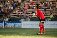 Seattle, Washington - Saturday, July 2nd, 2016: Boston Breakers goalkeeper Jami Kranich (2) during a regular season National Women's Soccer League (NWSL) match between the Seattle Reign FC and the Boston Breakers at Memorial Stadium. Seattle won 2-0.