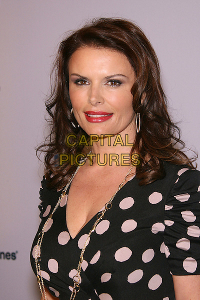 ROMA DOWNEY.US-Ireland Alliance Pre-Academy Awards Event held at the Ebell Club of Los Angeles, Los Angeles, California, USA, 22 February 2007..portrait headshot red lipstick black and white polka dot dress.CAP/ADM/ZL.©Zach Lipp/AdMedia/Capital Pictures. Oscars