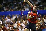 Kenichi Tago (JPN), SEPTEMBER 22, 2013 - Badminton : Yonex Open Japan 2013 Men's Singles final at Tokyo Metropolitan Gymnasium, Tokyo, Japan. (Photo by Yusuke Nakanishi/AFLO SPORT) [1090]