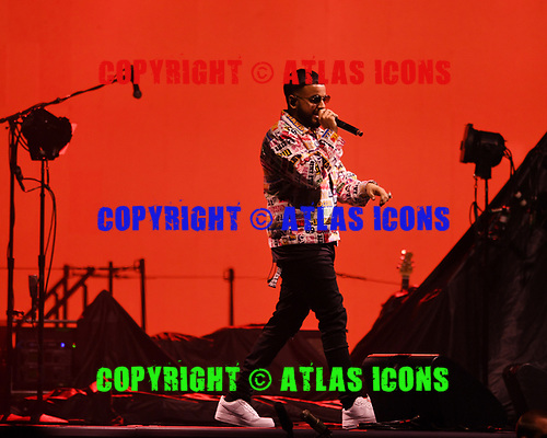MIAMI, FL - OCTOBER 24: Nav performs at the AmericanAirlines Arena on October 24, 2017 in Miami Florida. Credit Larry Marano © 2017