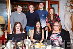 The staff of Applegreen Manor enjoying a staff night out on  Womens Little Christmas in the Bella Bia Restaurant on Saturday night, seated l-r,  Aine Fraeghen, Anna Noris and Emma McElligott. Back l-r, Jason Enright, Karolis Sdreimikis, Ovi Krisciunas and Michelle Daly.