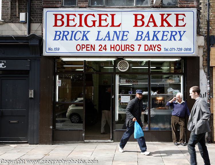 Beigel Bake bakery Brick Lane London England