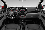 Stock photo of straight dashboard view of 2016 Opel Karl Cosmo 5 Door Hatchback Dashboard