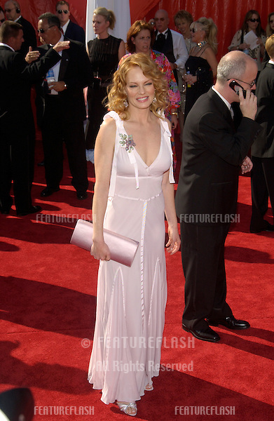 MARG HELGENBERGER at the 55t Annual Emmy Awards in Los Angeles..Sept 21, 2003