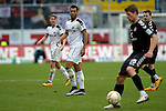 GER - Sandhausen, Germany, March 19: During the 2. Bundesliga soccer match between SV Sandhausen (white) and FC ST. Pauli (grey) on March 19, 2016 at Hardtwaldstadion in Sandhausen, Germany. (Photo by Dirk Markgraf / www.265-images.com) *** Local caption *** Andrew Wooten #8 of SV Sandhausen