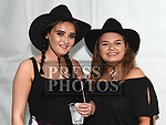 Chanice Roche and fraia O'Toole at the Big Country night in Cushinstown Athletic Club in aid of the Oncology Unit at Our Lady of Lourdes Hospital. Photo:Colin Bell/pressphotos.ie