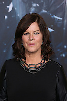 HOLLYWOOD, LOS ANGELES, CA, USA - DECEMBER 09: Marcia Gay Harden arrives at the World Premiere Of New Line Cinema, MGM Pictures And Warner Bros. Pictures' 'The Hobbit: The Battle of the Five Armies' held at the Dolby Theatre on December 9, 2014 in Hollywood, Los Angeles, California, United States. (Photo by Xavier Collin/Celebrity Monitor)