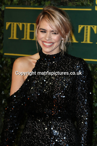 NON EXCLUSIVE PICTURE: MATRIXPICTURES.CO.UK<br /> PLEASE CREDIT ALL USES<br /> <br /> WORLD RIGHTS<br /> <br /> Billie Piper attends the Evening Standard Theatre Awards 2017 at Theatre Royal, Drury Lane in London. <br /> <br /> DECEMBER 3rd 2017<br /> <br /> REF: MES 172784