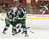 Tim O'Brien (Dartmouth - 8), Colin Blackwell (Harvard - 63), Brad Scheierhorn (Dartmouth - 25) - The Harvard University Crimson defeated the Dartmouth College Big Green 5-2 to sweep their weekend series on Sunday, November 1, 2015, at Bright-Landry Hockey Center in Boston, Massachusetts. -