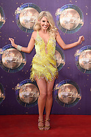 Mollie King at the launch of the new series of &quot;Strictly Come Dancing&quot; at New Broadcasting House, London, UK. <br /> 28 August  2017<br /> Picture: Steve Vas/Featureflash/SilverHub 0208 004 5359 sales@silverhubmedia.com