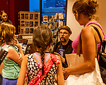 "July 26, 2017. Raleigh, North Carolina.<br /> <br /> Alan Gratz speaks to his fans. <br /> <br /> Author Alan Gratz spoke about and signed his new book ""Refugee"" at Quail Ridge Books. The young adult fiction novel contrasts the stories of three refugees from different time periods, a Jewish boy in 1930's Germany , a Cuban girl in 1994 and a Syrian boy in 2015."