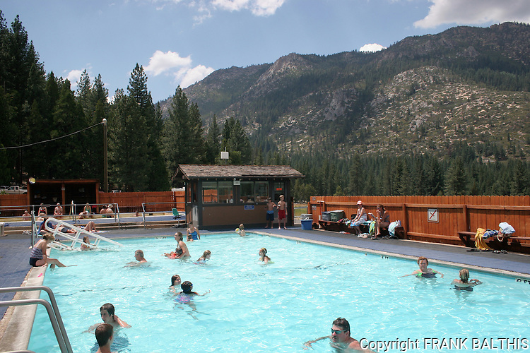 Pool at Grover Hot Springs State Park
