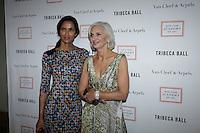 Padma Lakshmi, Eileen Guggenheim, New York Academy of Art Tribeca Ball